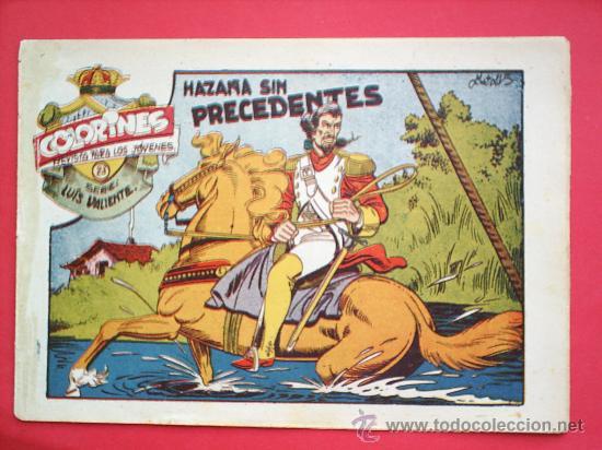 Tebeos: LUIS VALIENTE colorines grafidea 24 NUMEROS , MATIAS ALONSO , ORIGINAL COMPLETS 1958 - Foto 25 - 27413882