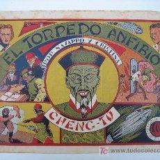 Tebeos: NAVARRO Y CRISTINA Nº 3: EL TORPEDO ANFIBIO. 21X32CM ORIGINAL DE EDITORIAL GRAFIDEA 1944.. Lote 17453808