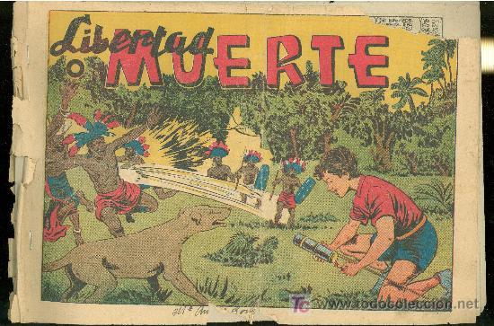 LIBERTAD O MUERTE. EDITORIAL GRAFIDEA, S. L. Nº 35. (Tebeos y Comics - Grafidea - Otros)