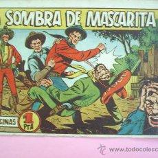 Tebeos: MASCARITA N. 12 EDITORIAL GRAFIDEA -LA SOMBRA DE MASCARITA - ORIGINAL. Lote 25014970