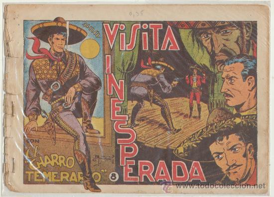 EL CHARRO TEMERARIO Nº 8. GRAFIDEA 1953. (Tebeos y Comics - Grafidea - El Charro Temerario)