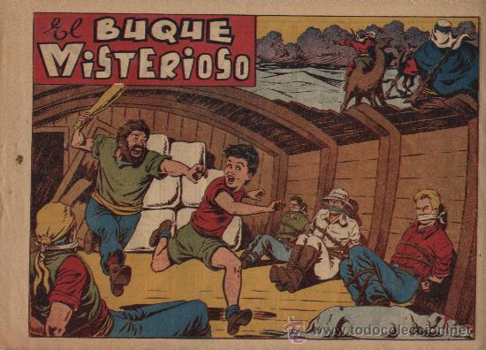 CHICOS 4ª Nº 29: EL BUQUE MISTERIOSO (Tebeos y Comics - Grafidea - Chispita)