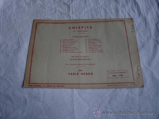 Tebeos: CHISPITA 8ª Nº 18 ORIGINAL - Foto 2 - 25980320