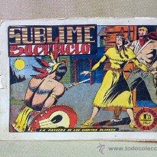 Tebeos: COMIC, ORIGINAL, LA MASCARA DE LOS DIENTES BLANCOS, SUBLIME SACRIFICIO, Nº 19, GRAFIDEA. Lote 25219242