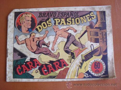 BRAVO ESPAÑOL - DOS PASIONES -- GRAFIDEA -- ORIGINAL (Tebeos y Comics - Grafidea - Otros)