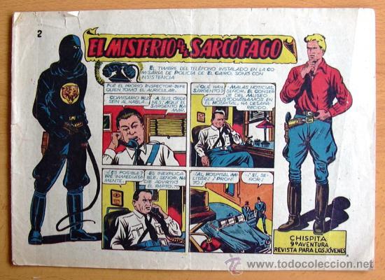 CHISPITA 9ª AVENTURA, Nº 2 - EDITORIAL GRAFIDEA 1957 (Tebeos y Comics - Grafidea - Chispita)