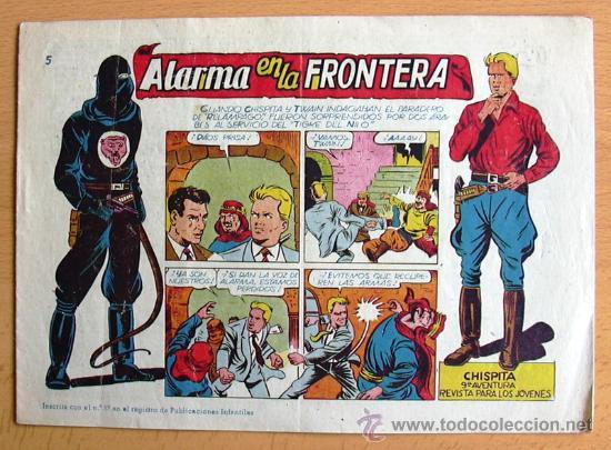 CHISPITA 9ª AVENTURA, Nº 5 - EDITORIAL GRAFIDEA 1957 (Tebeos y Comics - Grafidea - Chispita)