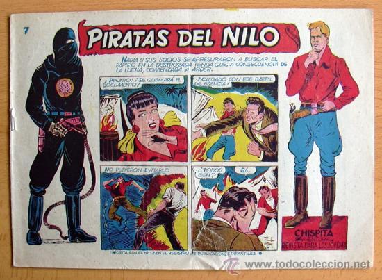 CHISPITA 9ª AVENTURA, Nº 7 - EDITORIAL GRAFIDEA 1957 (Tebeos y Comics - Grafidea - Chispita)