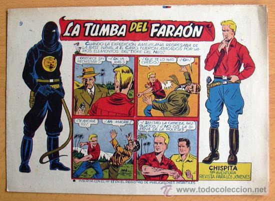 CHISPITA 9ª AVENTURA, Nº 9 - EDITORIAL GRAFIDEA 1957 (Tebeos y Comics - Grafidea - Chispita)
