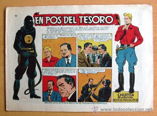 CHISPITA 9ª AVENTURA, Nº 11 - EDITORIAL GRAFIDEA 1957 (Tebeos y Comics - Grafidea - Chispita)