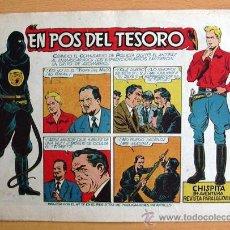 Tebeos: CHISPITA 9ª AVENTURA, Nº 11 - EDITORIAL GRAFIDEA 1957. Lote 27963870