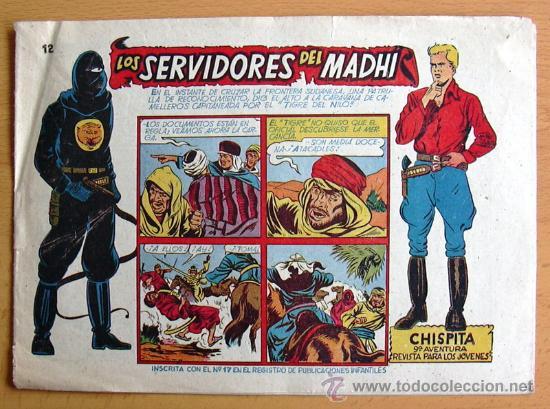 CHISPITA 9ª AVENTURA, Nº 12 - EDITORIAL GRAFIDEA 1957 (Tebeos y Comics - Grafidea - Chispita)