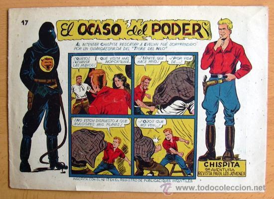 CHISPITA 9ª AVENTURA, Nº 17 - EDITORIAL GRAFIDEA 1957 (Tebeos y Comics - Grafidea - Chispita)