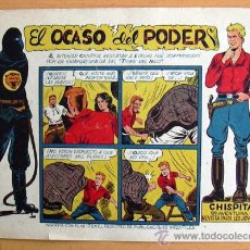 Tebeos: CHISPITA 9ª AVENTURA, Nº 17 - EDITORIAL GRAFIDEA 1957. Lote 27964156