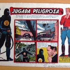 Tebeos: CHISPITA 9ª AVENTURA, Nº 19 - EDITORIAL GRAFIDEA 1957. Lote 27964176
