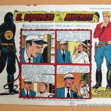 Tebeos: CHISPITA 9ª AVENTURA, Nº 21 - EDITORIAL GRAFIDEA 1957. Lote 27964191