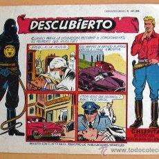 Tebeos: CHISPITA 9ª AVENTURA, Nº 24 ÚLTIMO DE LA COLECCIÓN - EDITORIAL GRAFIDEA 1957. Lote 27964230