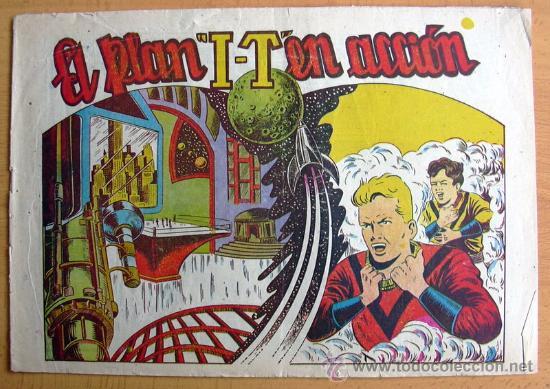 CHISPITA 7ª AVENTURA, Nº 3 - EDITORIAL GRAFIDEA 1955 (Tebeos y Comics - Grafidea - Chispita)