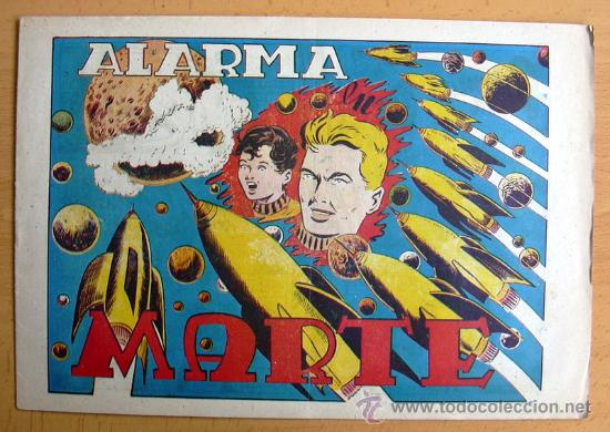 CHISPITA 7ª AVENTURA, Nº 6 ALARMA EN MARTE - EDITORIAL GRAFIDEA 1955 (Tebeos y Comics - Grafidea - Chispita)