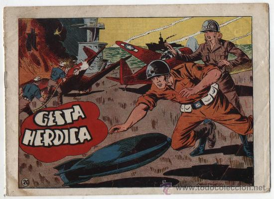 SARGENTO MACAI Nº 20. GRAFIDEA 1952. (Tebeos y Comics - Grafidea - Otros)