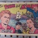 Tebeos: QUINTA AVENTURA DE CHISPITA ,1954 NUMERO 1 LOS PENADOS DE SANTA MARIA , GRAFIDEA. Lote 29934041