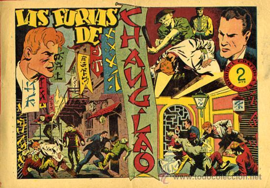 JULIO MARTIN Y CASIANO BARULLO , Nº 22, LAS FURIAS DE CHANG-LAS , GRAFIDEA ,ORIGINAL , C67 (Tebeos y Comics - Grafidea - Otros)