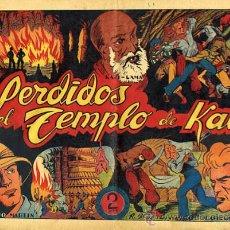 Tebeos: JULIO MARTIN Y CASIANO BARULLO , Nº 3 , PERDIDOS EN EL TEMPLO DE KALI , GRAFIDEA ,ORIGINAL , C69. Lote 30264000