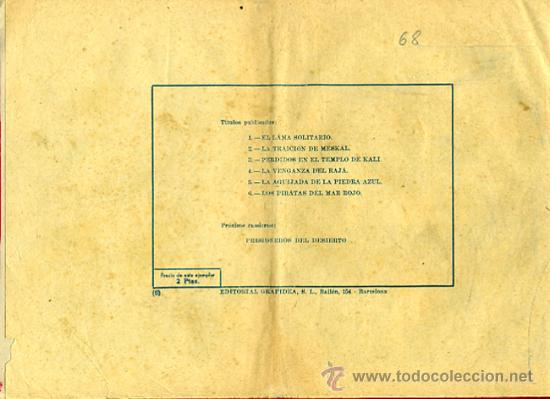Tebeos: JULIO MARTIN Y CASIANO BARULLO , Nº 6 , LOS PIRATAS DEL MAR ROJO , GRAFIDEA ,ORIGINAL , C68 - Foto 4 - 30263983