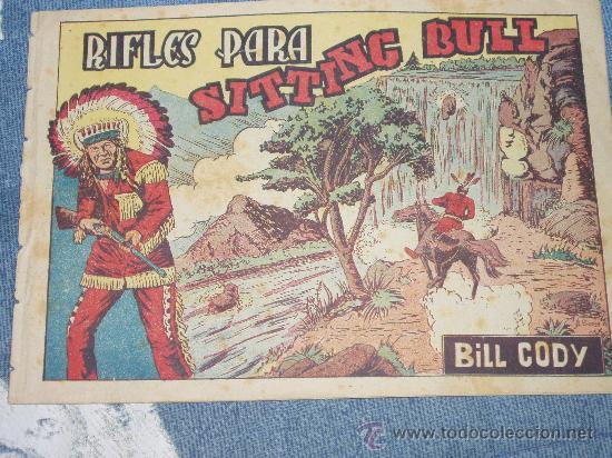 BILL CODY. N 14. ( SITTING BULL). EDIT. GRAFIDEA (Tebeos y Comics - Grafidea - Otros)