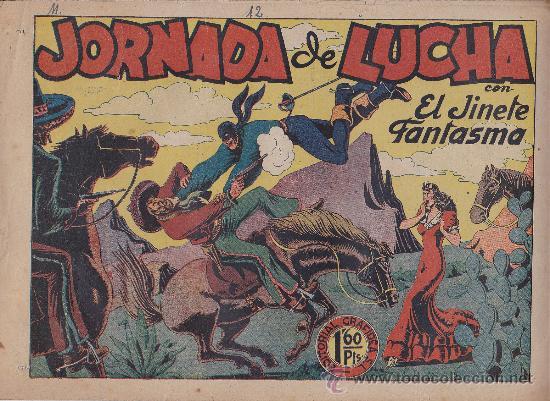 EL JINETE FANTASMA Nº 12 (Tebeos y Comics - Grafidea - El Jinete Fantasma)