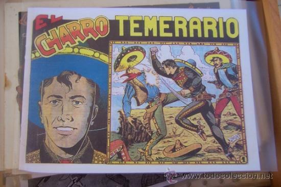 GRAFIDEA EL CHARRO TEMERARIO 1 REEDICIÓN-2-4-34-41 Y 2ª PARTE LA CAPITANA Nº 4-18-5-17-36 (Tebeos y Comics - Grafidea - El Charro Temerario)