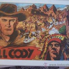 Tebeos: GRAFIDEA BILL CODY Nº 1 RENDICIÓN-MAS ORIGINALES Nº 3-4-5-6-8. Lote 32972310