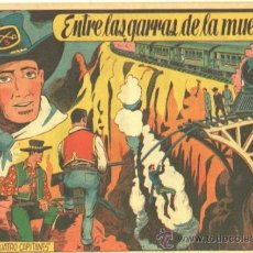 Tebeos: CUATRO CAPITANES Nº 18 - EDI. GRAFIDEA 1954, DIBUJO J.M. ORTIZ - ORIGINAL. Lote 33912846