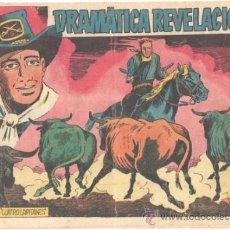 Tebeos: CUATRO CAPITANES Nº 19 - EDI. GRAFIDEA 1954, DIBUJO J.M. ORTIZ - ORIGINAL. Lote 33912861