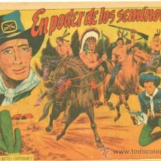 Tebeos: CUATRO CAPITANES Nº 31 - EDI. GRAFIDEA 1954, DIBUJO J.M. ORTIZ - ORIGINAL. Lote 33912874