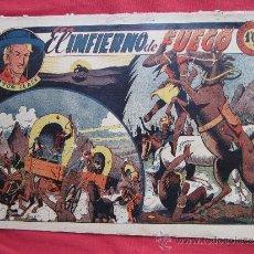 Tebeos: TOM CLARK , NUMERO 10 , EL INFIERNO DE FUEGO , EDITORIAL GRAFIDEA 1944. Lote 34127798