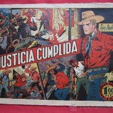 Tebeos: ROY ANDERS , NUMERO 3 , JUSTICIA CUMPLIDA , SALVADOR MESTRES 1947 EDITORIAL GRAFIDEA. Lote 34128310