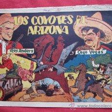Tebeos: ROY ANDERS , NUMERO 6 , LOS COYOTES DE ARIZONA ,SALVADOR MESTRES EDITORIAL GRAFIDEA 1944. Lote 34128522