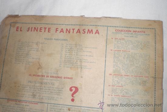 Tebeos: EL JINETE FANTASMA Nº 24 ORIGINAL - Foto 2 - 34219188