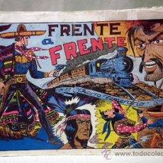 Tebeos: COMIC, EL CHARRO TEMERARIO, Nº 15, FRENTE A FRENTE, EDITORIAL GRAFIDEA. Lote 37415427