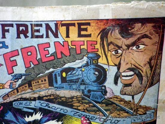Tebeos: COMIC, EL CHARRO TEMERARIO, Nº 15, FRENTE A FRENTE, EDITORIAL GRAFIDEA - Foto 2 - 37415427
