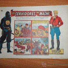 Tebeos: CHISPITA 9ª NOVENA AVENTURA, Nº 12 - EDITORIAL GRAFIDEA 1957 ORIGINAL. Lote 37635215