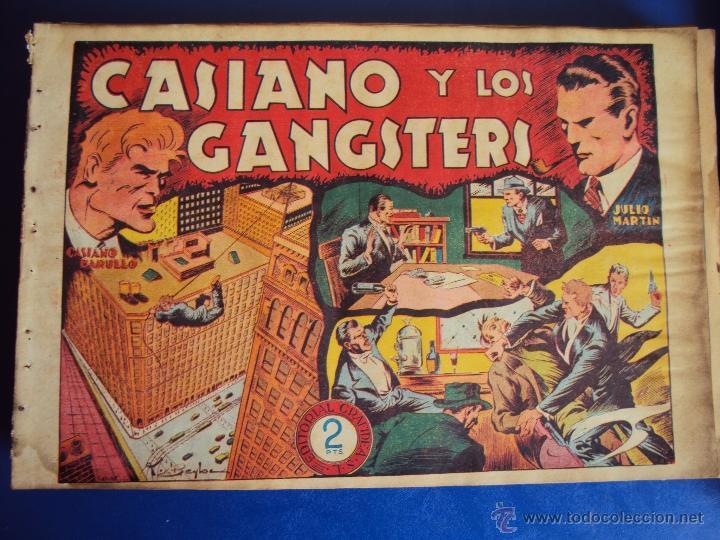(COM-26)COMIC CASIANO BARULLO Y JULIO MARTIN,EDITORIAL GRAFIDEA (Tebeos y Comics - Grafidea - Otros)
