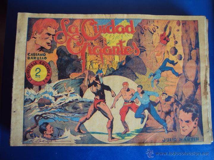 (COM-34)COMIC CASIANO BARULLO Y JULIO MARTIN,EDITORIAL GRAFIDEA (Tebeos y Comics - Grafidea - Otros)