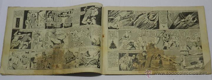 Tebeos: NAVARRO Y CRISTINA Nº 3: EL TORPEDO ANFIBIO. MIDE 32 X 21CM ORIGINAL DE EDITORIAL GRAFIDEA, AÑO 1944 - Foto 2 - 42474608