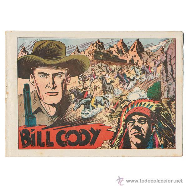 BILL CODY. GRAFIDEA, 1951. COMPLETA (16 EJEMPLARES). CONSERVACIÓN BUENA A NORMAL. MUY DIFICIL (Tebeos y Comics - Grafidea - Otros)