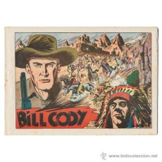Tebeos: BILL CODY. GRAFIDEA, 1951. COMPLETA (16 EJEMPLARES). CONSERVACIÓN BUENA A NORMAL. MUY DIFICIL. Lote 42536886