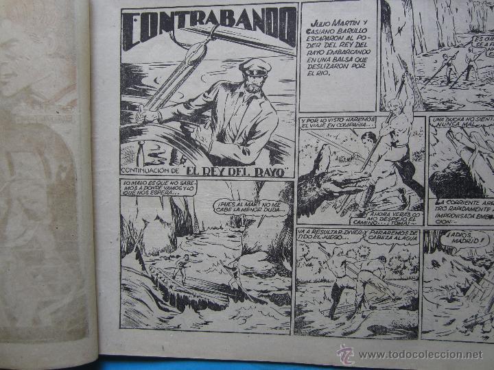 Tebeos: casiano barullo, 21 , contrabando , primera edicion 1944 , editorial grafidea - Foto 2 - 43512583