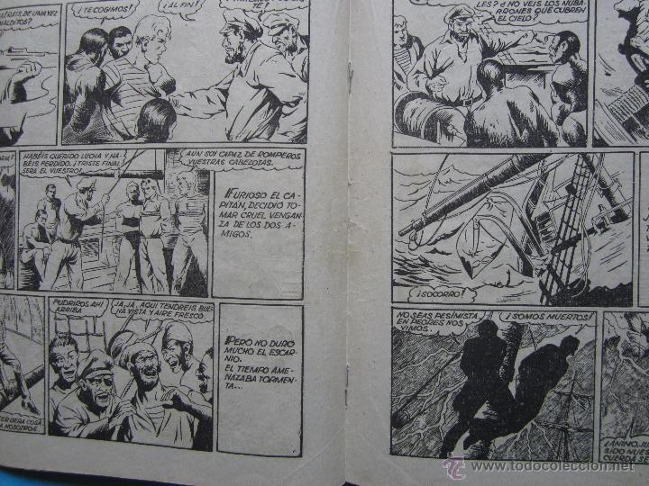 Tebeos: casiano barullo, 21 , contrabando , primera edicion 1944 , editorial grafidea - Foto 3 - 43512583