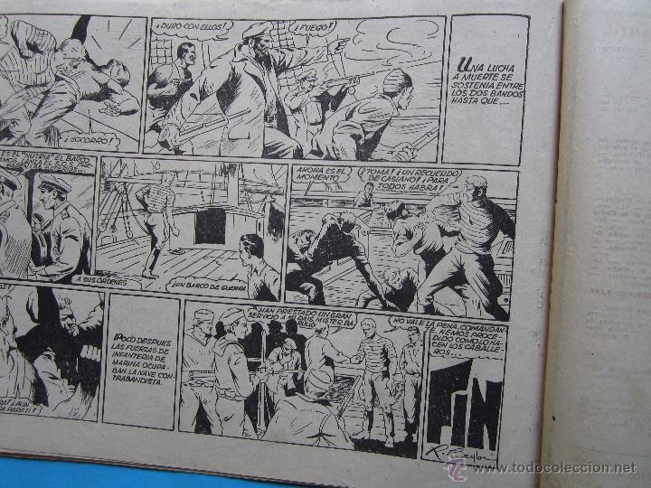 Tebeos: casiano barullo, 21 , contrabando , primera edicion 1944 , editorial grafidea - Foto 4 - 43512583